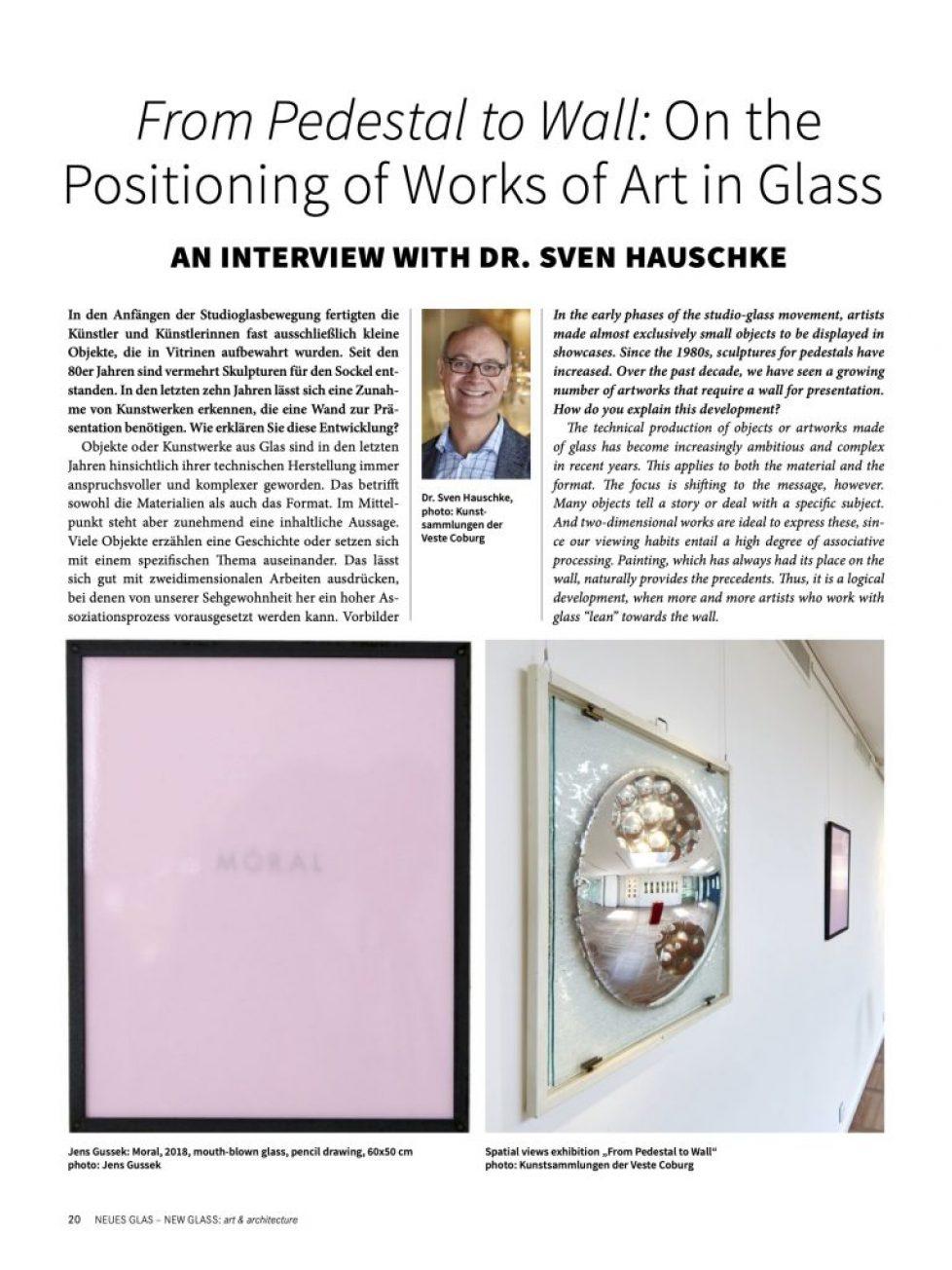 Neues Glas New Glass